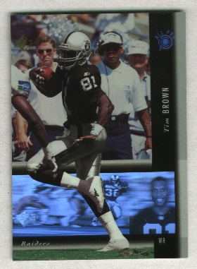 1994 SP Holoviews #PB20 Tim Brown