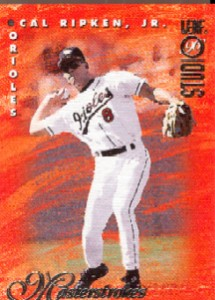 1996 Studio Masterstrokes #5 Cal Ripken