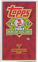 2003 Topps 2 ( Series two ) factory-sealed HOBBY baseball box