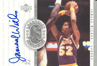 2000 Upper Deck Century Legends Legendary Signatures #JA Jamaal Wilkes