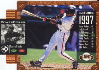 1998 UD3 Die Cuts #145 Barry Bonds PE