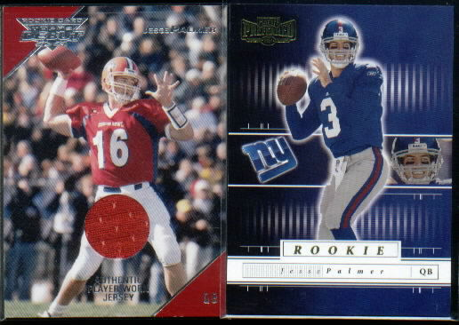 2001 Playoff Preferred #105 Jesse Palmer RC