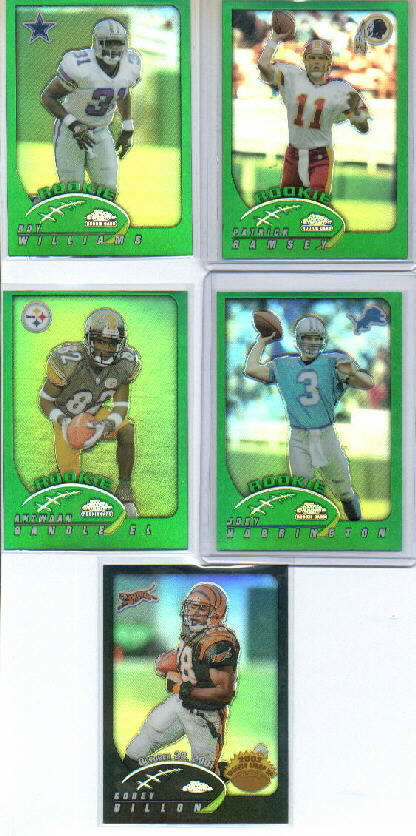 2002 Topps Chrome #197 Patrick Ramsey RC