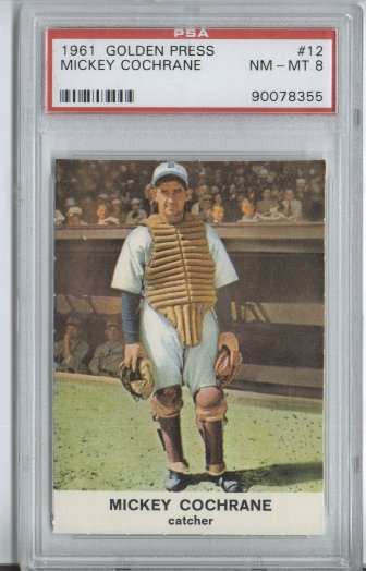 1961 Golden Press #12 Mickey Cochrane