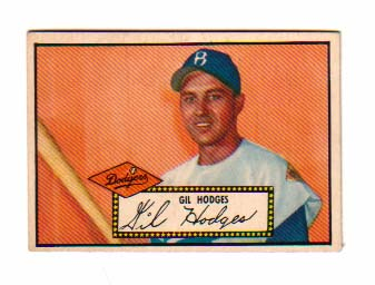 1952 Topps #36 Gil Hodges