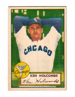 1952 Topps #95 Ken Holcombe