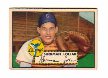 1952 Topps #117 Sherm Lollar