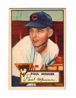 1952 Topps #127 Paul Minner RC