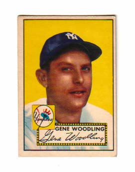 1952 Topps #99 Gene Woodling