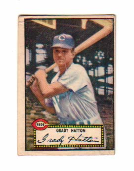 1952 Topps #6 Grady Hatton