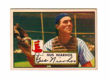 1952 Topps #121 Gus Niarhos