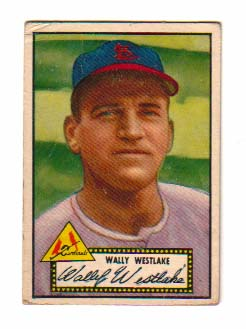 1952 Topps #38 Wally Westlake