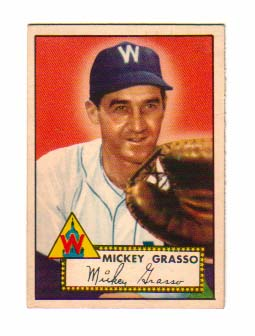 1952 Topps #90 Mickey Grasso
