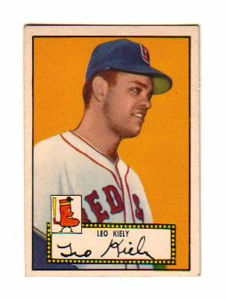 1952 Topps #54 Leo Kiely RC