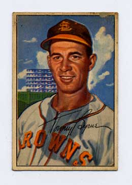 1952 Bowman #61 Tommy Byrne