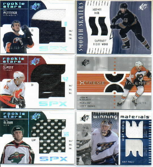 2002-03 SPx Winning Materials #WMKO Olaf Kolzig