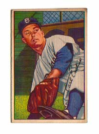 1952 Bowman #70 Carl Erskine