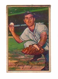 1952 Bowman #58 Hank Majeski
