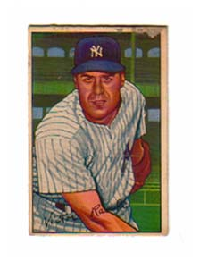 1952 Bowman #37 Vic Raschi