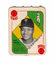 1951 Topps Red Backs #32 Henry Thompson front image