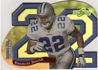 1999 Score Supplemental Behind the Numbers #BN22 Emmitt Smith