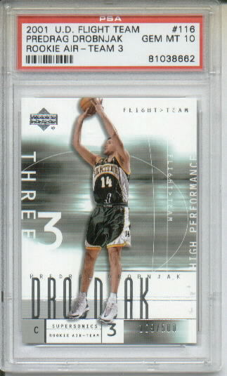 2002 UD Graded #166 Ron Johnson P AU RC
