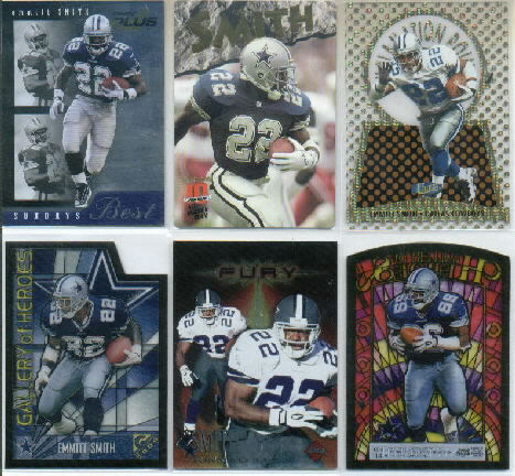 1998 Pinnacle Plus Go To Guys Promos #2 Emmitt Smith