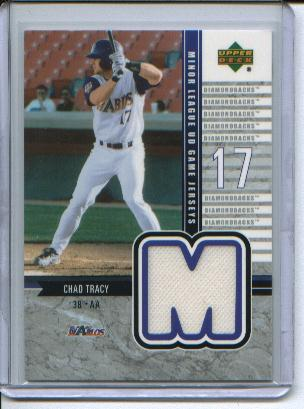 2002 UD Minor League Game Jerseys #JCT Chad Tracy