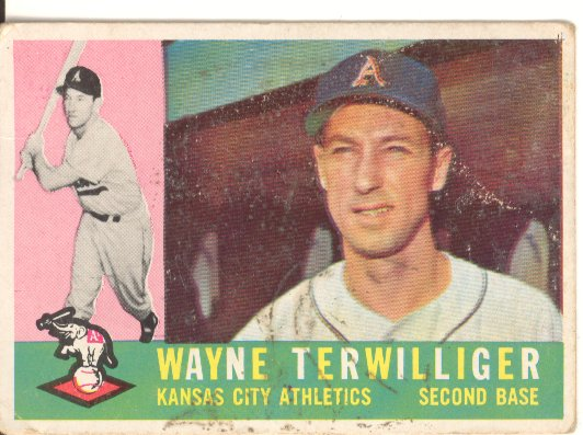 1960 Topps #26 Wayne Terwilliger