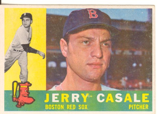 1960 Topps #38 Jerry Casale front image