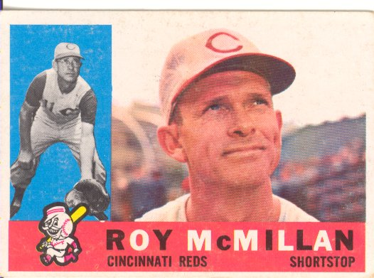 1960 Topps #45 Roy McMillan