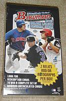 2003 Bowman factory-sealed baseball HOBBY box