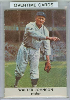 1961 Golden Press #29 Walter Johnson