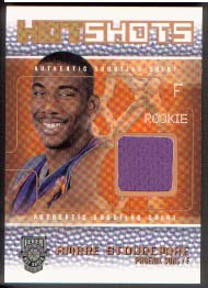 2002-03 Fleer Hot Shots Hot Shots Inserts Game-Used Gold #AS Amare Stoudemire