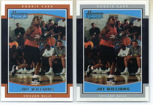 2002-03 Bowman Signature Edition Parallel #SEJAW Jay Williams/249