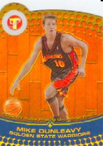 2002-03 Topps Pristine Refractors Gold #58 Mike Dunleavy U
