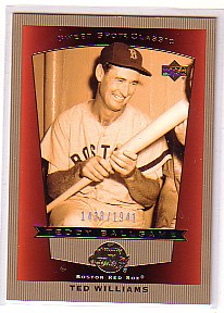2003 Sweet Spot Classics #100 Ted Williams TB