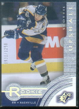 2001-02 SPx Rookie Redemption #R17 Scottie Upshall