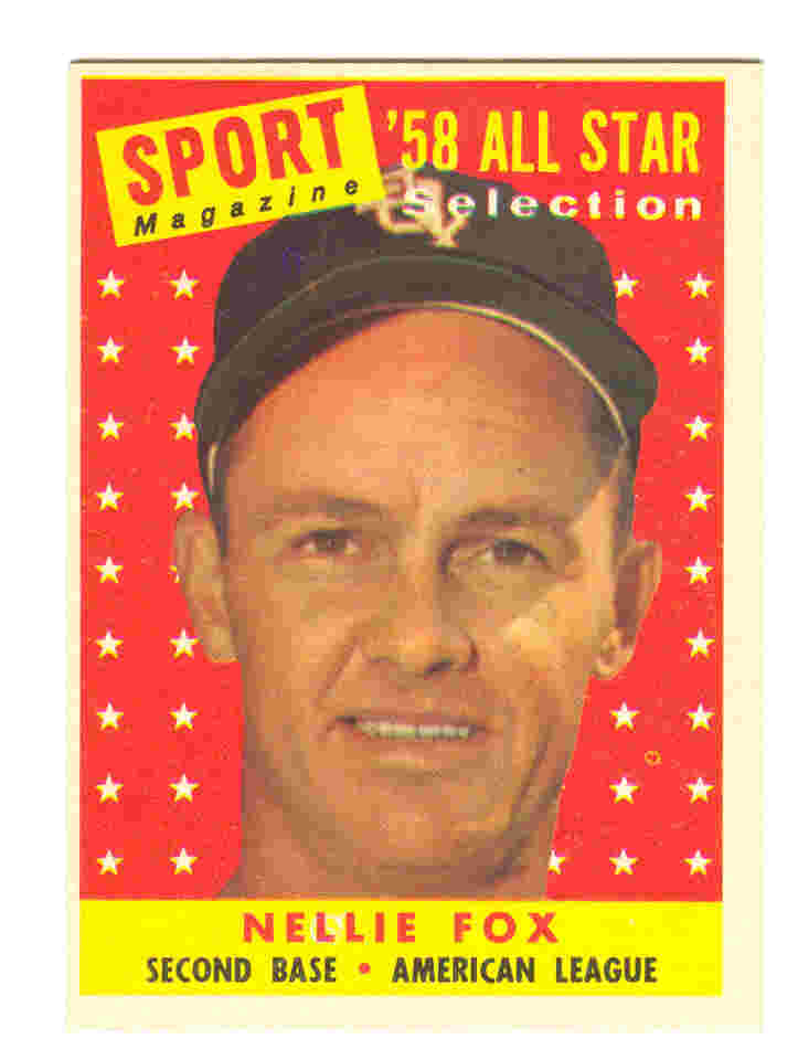 1958 Topps #479 Nellie Fox AS