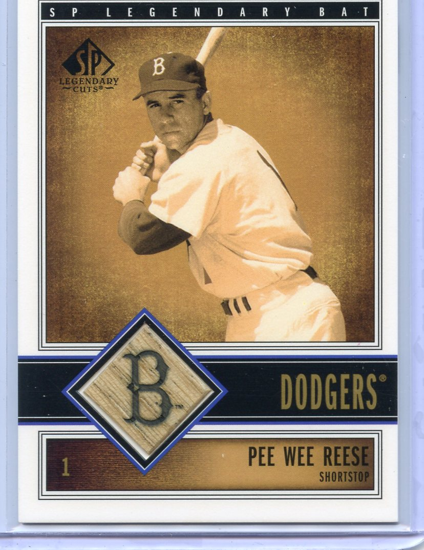 2002 SP Legendary Cuts Game Bat #BDSN Duke Snider