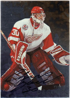 1998-99 Be A Player Autographs #47 Chris Osgood
