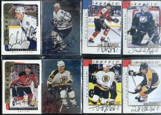 1998-99 Be A Player Autographs #134 Fredrik Modin