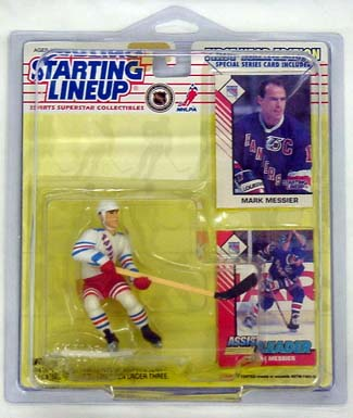 1993 Starting Lineup (SLU) Mark Messier New York Rangers