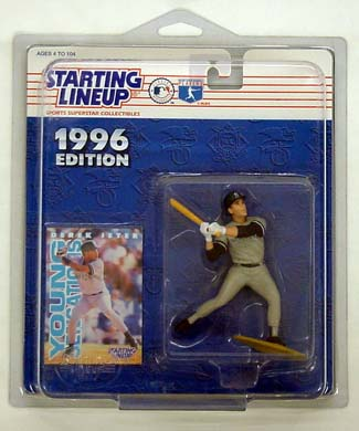 1996 Starting Lineup (SLU) Derek Jeter New York Yankees