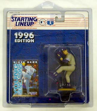 1996 Starting Lineup (SLU) Hideo Nomo Los Angeles Dodgers