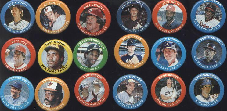 1984 FUN FOODS PINS NOLAN RYAN ASTROS PIN 