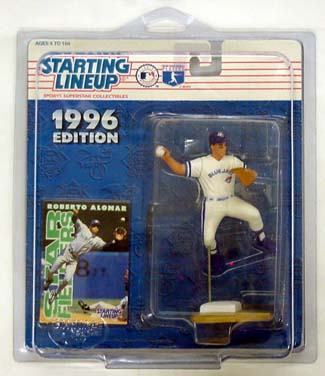 1996 Starting Lineup (SLU) Roberto Alomar Toronto Bluejays