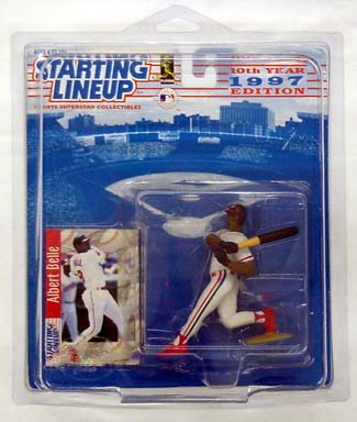 1997 Starting Lineup (SLU) Albert Belle Cleveland Indians