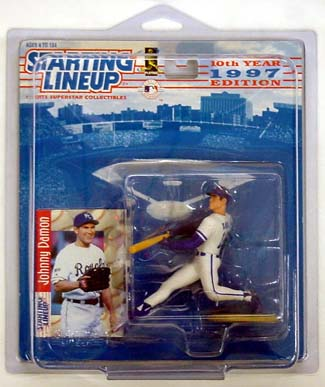 1997 Starting Lineup (SLU) Johnny Damon Kansas City Royals
