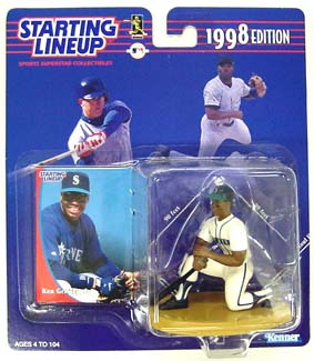 1998 Starting Lineup (SLU) Ken Griffey Jr. Seattle Mariners